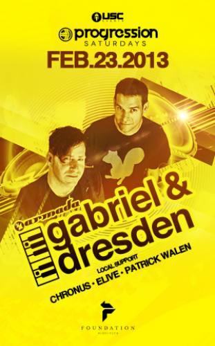 Gabriel & Dresden @ Foundation Nightclub