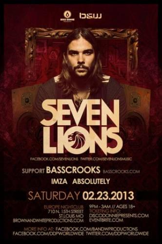 Seven Lions @ Europe Nightclub