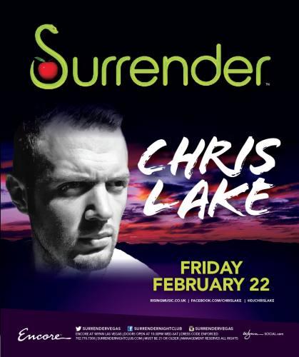 Chris Lake @ Surrender Nightclub (02-22-2013)