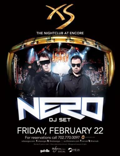 Nero @ XS Las Vegas (02-22-2013)