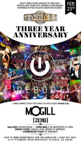 Havana Club 3 Year Anniversary