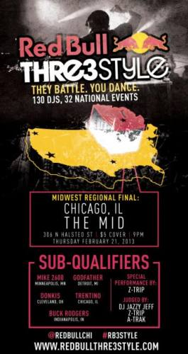 RED BULL THRE3STYLE - MIDWEST REGIONAL FINAL