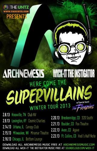 Archnemesis & Wick-it The Instigator @ Fox Theatre Boulder