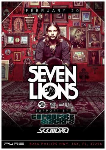 Seven Lions @ Pure