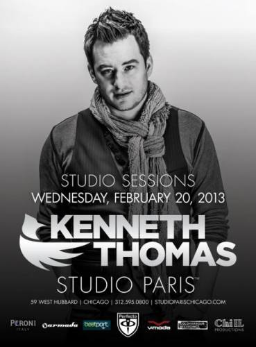 Kenneth Thomas @ Studio Paris