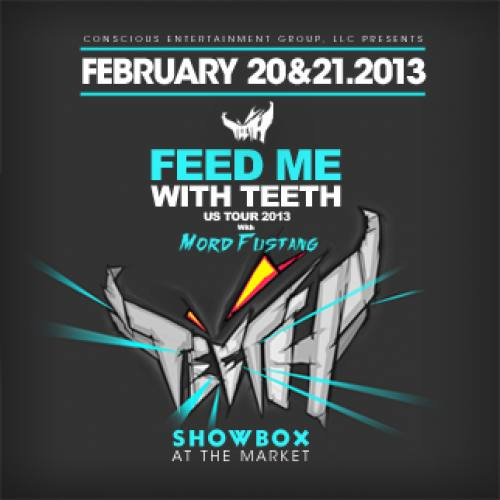 Feed Me with TEETH @ Showbox at the Market (Night 1)