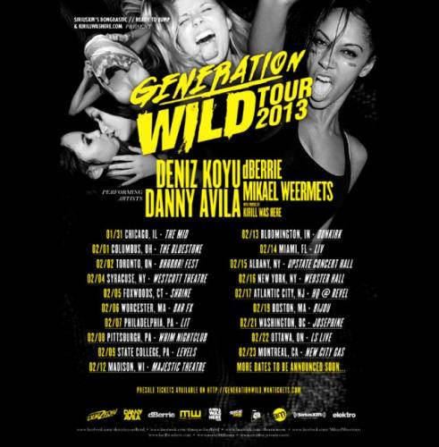 Deniz Koyu, Danny Avila and more @ Bijou Nightclub