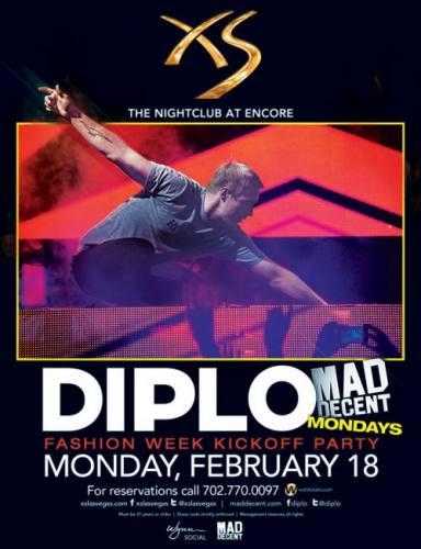 Diplo @ XS Las Vegas (02-18-2013)
