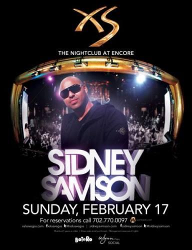 Sidney Samson @ XS Las Vegas