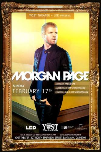 Morgan Page @ Yost Theater (02-17-2013)