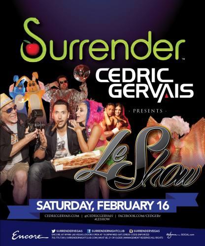 Cedric Gervais @ Surrender Nightclub (02-16-2013)
