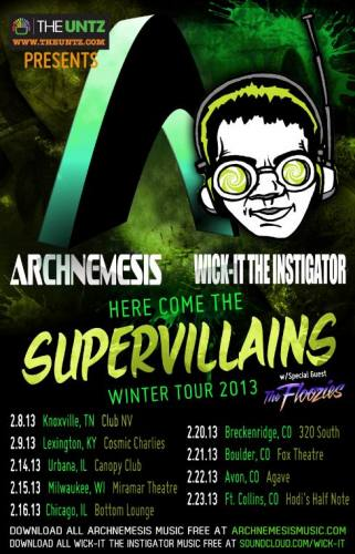 Archnemesis & Wick-it The Instigator @ Bottom Lounge