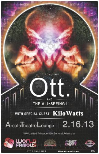 Ott & The All Seeing I w/ Kilowatts @ Aracta Theatre