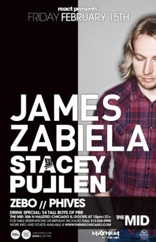2.15 JAMES ZABIELA - STACY PULLEN - ZEBO - PHIVES - MAYHEM