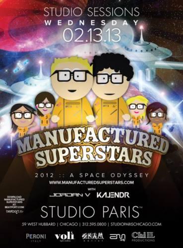 Manufactured Superstars @ Studio Paris