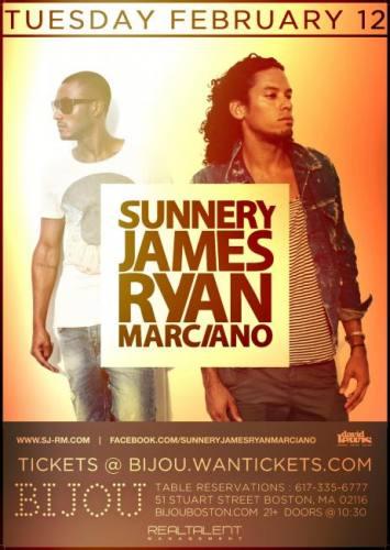Sunnery James & Ryan Marciano @ Bijou Nightclub (02-12-2013)