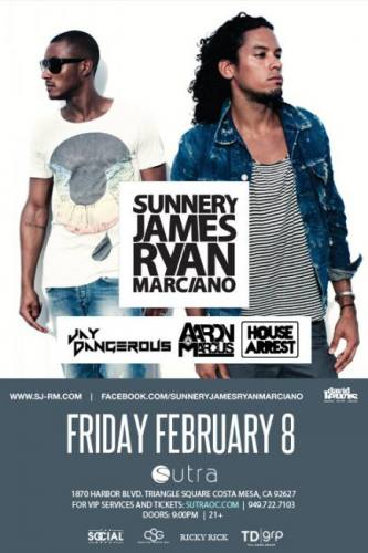 Sunnery James & Ryan Marciano @ Sutra (02-08-2013)