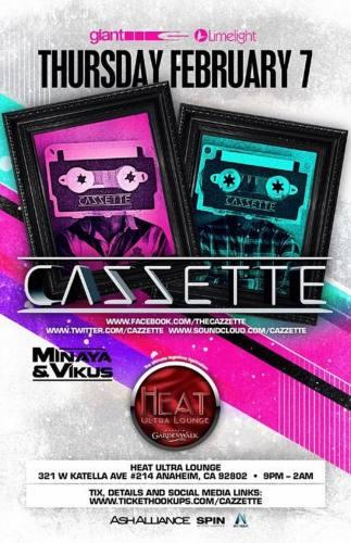 Cazzette @ Heat Ultra Lounge
