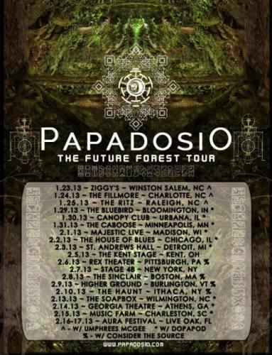 Papadosio @ Rex Theater (02-06-2013)