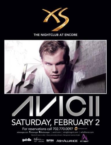 Avicii @ XS Las Vegas (02-02-2013)
