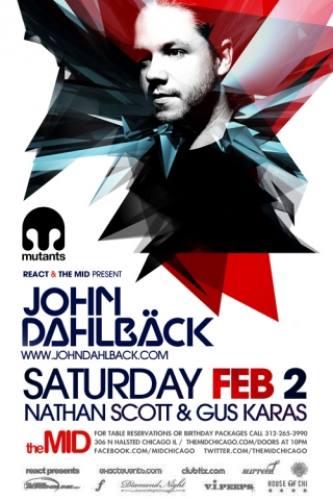 John Dahlback @ The MID