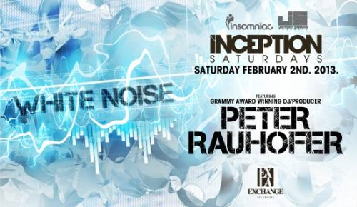 Inception with  Peter Rauhofer  at Exchange
