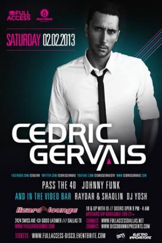Cedric Gervais @ Lizard Lounge