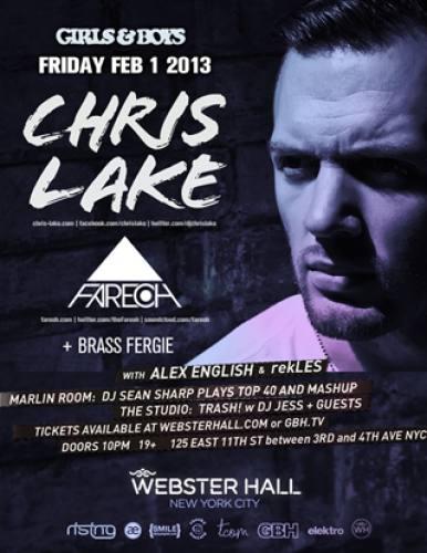 Chris Lake @ Webster Hall