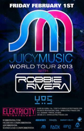 ROBBIE RIVERA | YOS | ELEKTRICITY FRIDAY FEB. 1ST