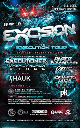 Excision @ Knitting Factory