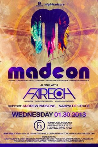Madeon w/ Fareoh @ Haven