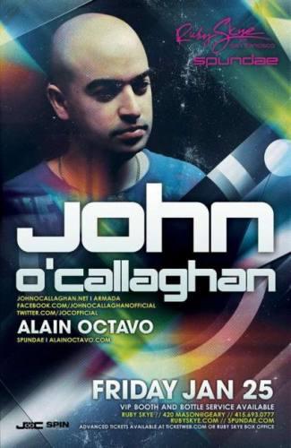 John O'Callaghan @ Ruby Skye (01-25-2013)