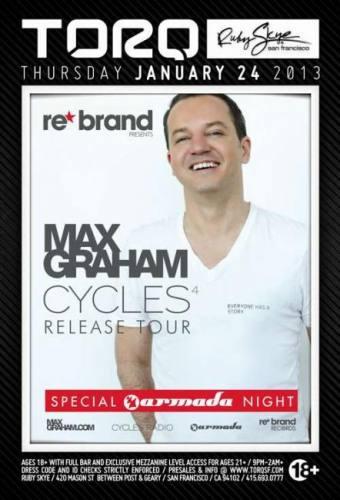 Max Graham @ Ruby Skye