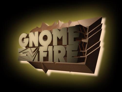 Gnome Fire Logo