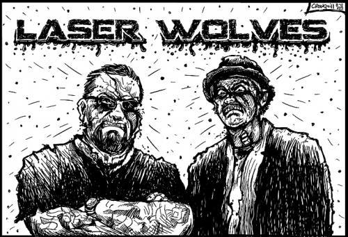 Laser Wolves Logo