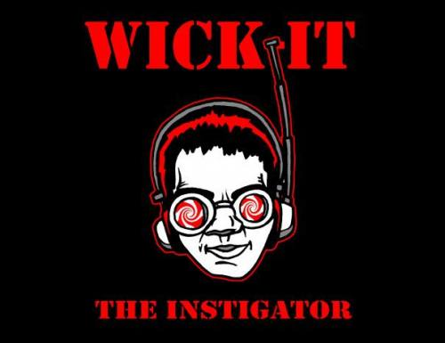 Wick-it the Instigator Logo