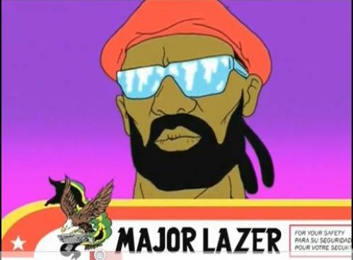 Major Lazer Logo