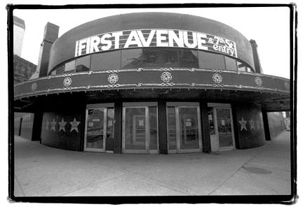 First Avenue & 7th Street Entry Logo