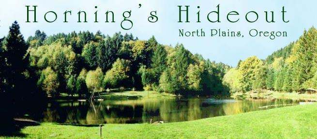 Horning's Hideout Logo