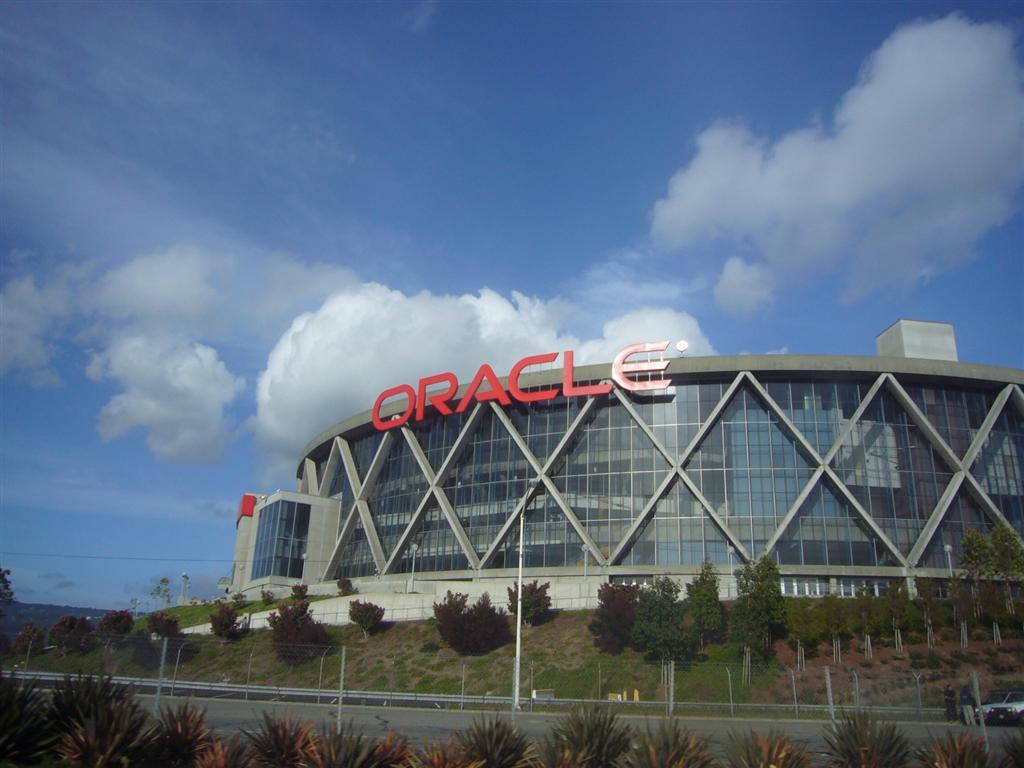ORACLE Arena Logo