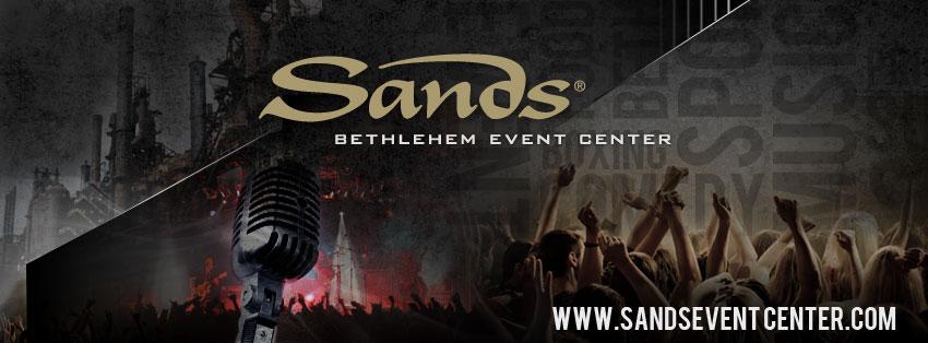 Sands casino bethlehem pa events