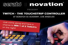 Novation Twitch @ Scratch DJ Academy in Los Angeles on 11/16