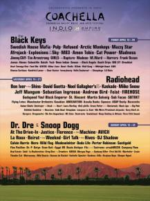 Coachella 2012 Lineup Announced