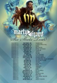 MartyParty - Six Shots Tour