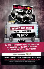 Top Kansas City DJ's to face off at Red Bull Thre3Style