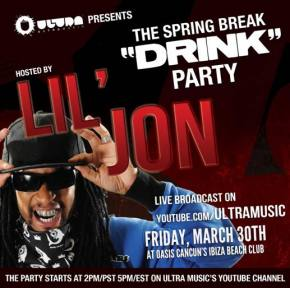 LIL JON teams with Ultra Music for Live Stream of his spring break event
