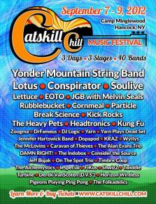 Catskill Chill Music Festival Announces Addition of Kick Rocks to Lineup