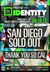 IDentity Festival Review / Cricket Wireless Amphitheater (San Diego, CA) / 08.18.12