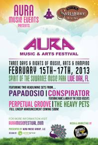 Aura Music & Arts Festival Announces 2013 Headliners