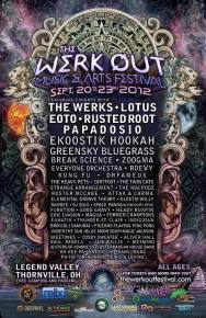 The Werk Out Music & Arts Festival Releases Festival Schedule for September 20-23